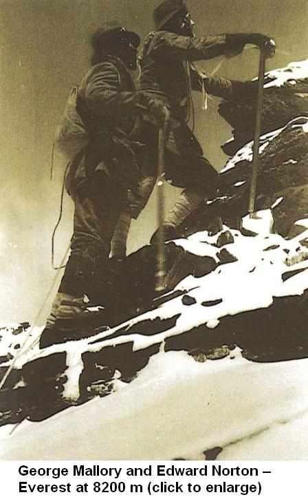 Andrew Irvine | My Himalayas George Mallory And Andrew Irvine