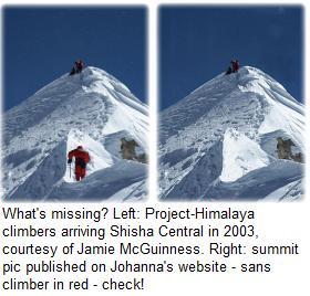 Shisha Pangma _summit pic